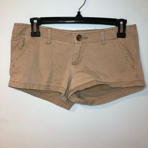 Hollister Brown Shorts Size 1